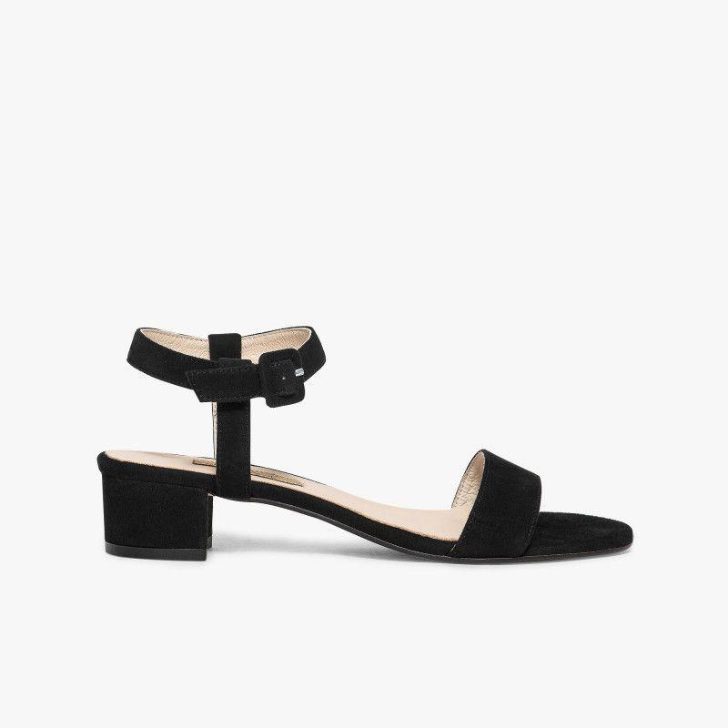 chaussures femme sandales cuir talon petit