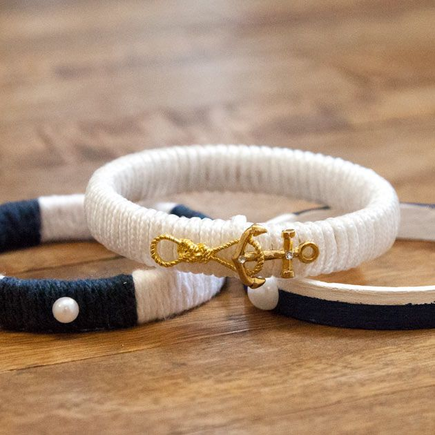 Diy jewelry do it yourself bracelets necklaces rings and nautical bracelets diy i already have the necessary equipments lying around solutioingenieria Choice Image