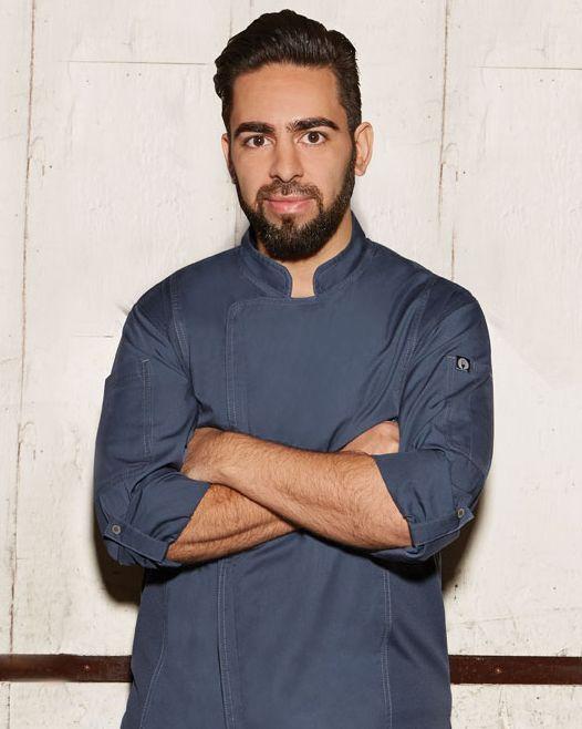 Chef Thiago Silva. | Chef coat, Single breasted jacket ...