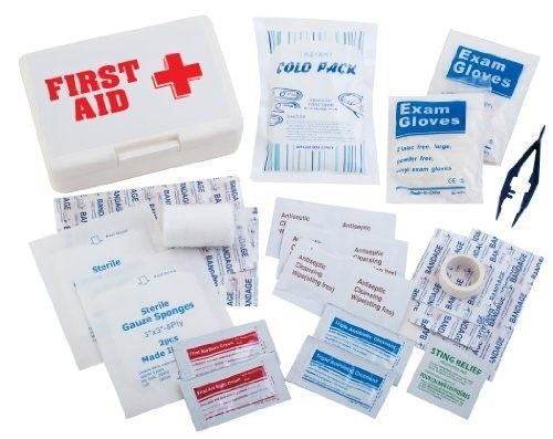 Champion Sports First Aid Kit White As Shown First