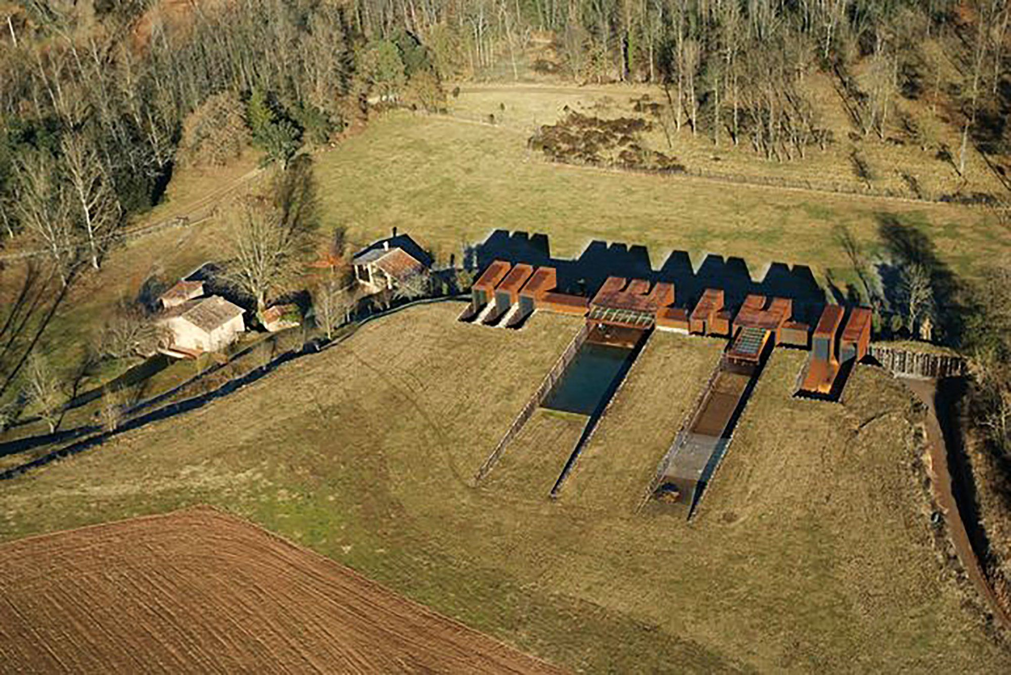 Casa rural rcr arquitectes architecture arch and - Arquitectes girona ...