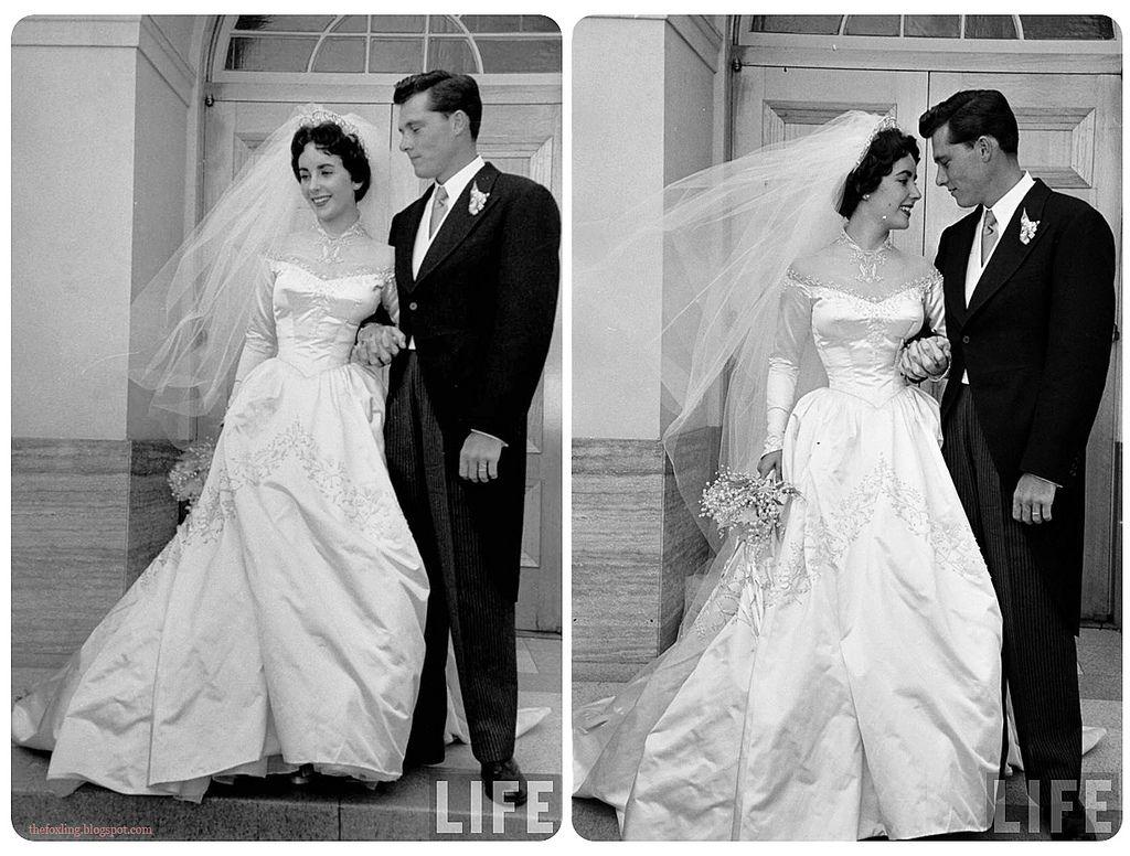 Elizabeth Tayloru0027s Wedding Dress, She Was Pictures