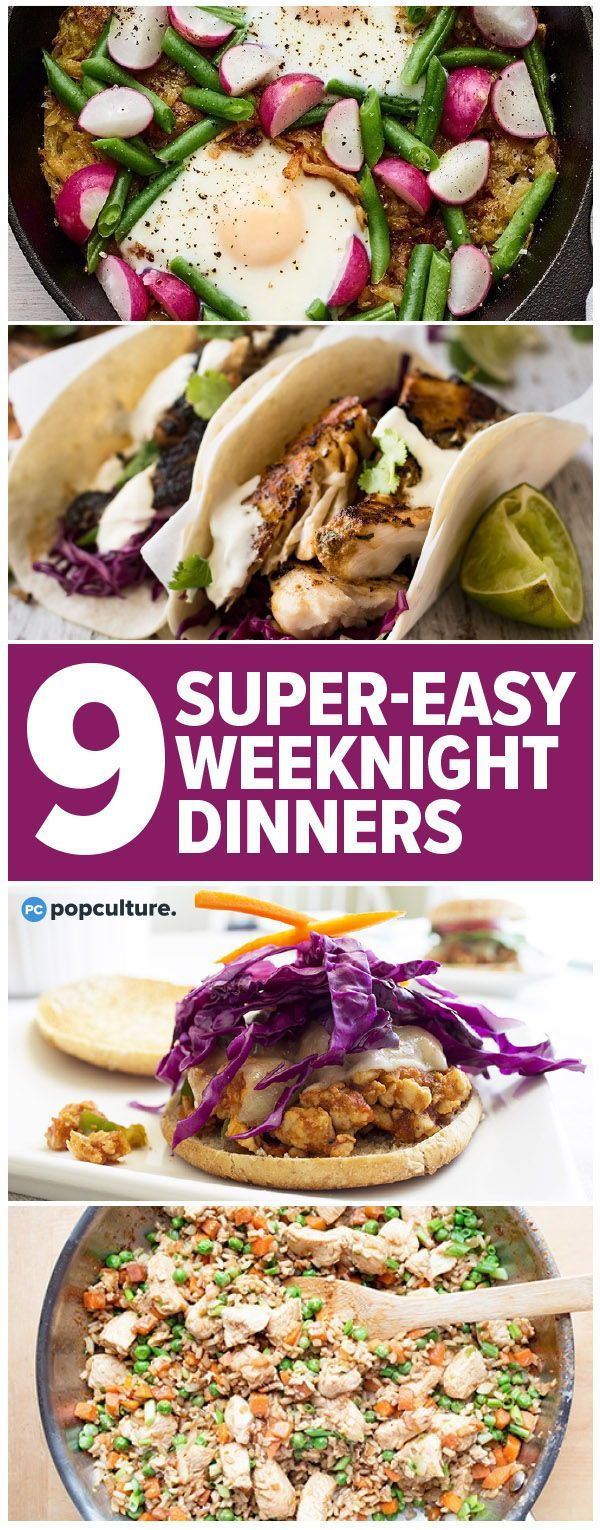 9 Super-Easy Weeknight Dinners to Try This Week images