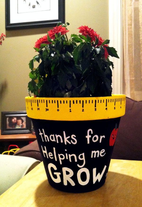 a teacher gift i personalized for peanut\'s last day at daycare ...