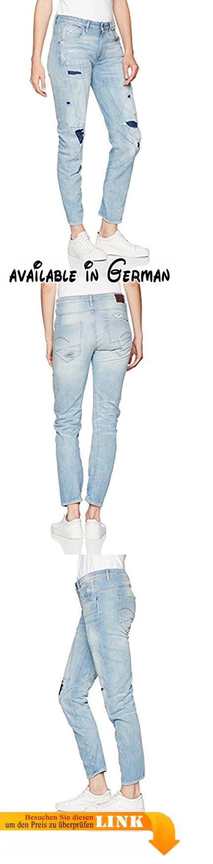 G-STAR RAW Damen Jeans Arc 3D Low Boyfriend Wmn, Blau (Lt Aged