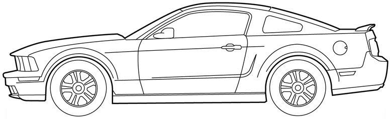 Cars Drawings Mustang - Gallery | BRAND PT II: 80s Tuner Shop ...