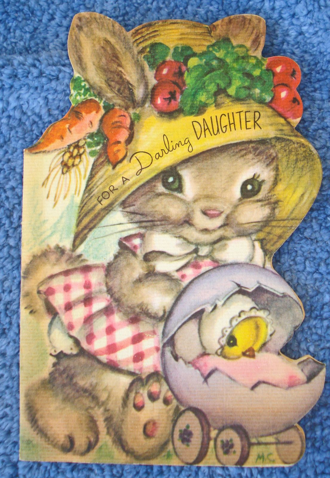 1948 & 1950 VINTAGE RUST CRAFT EASTER CARDS ART MARJORIE COOPER-KITTENS & BUNNY | eBay