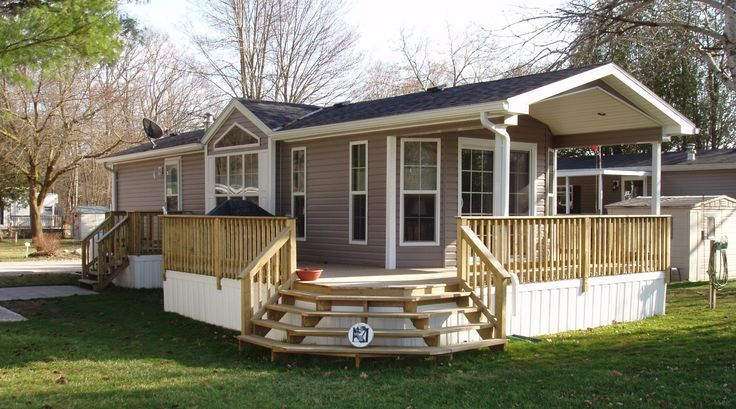 45 Great Manufactured Home Porch Designs Single Wide