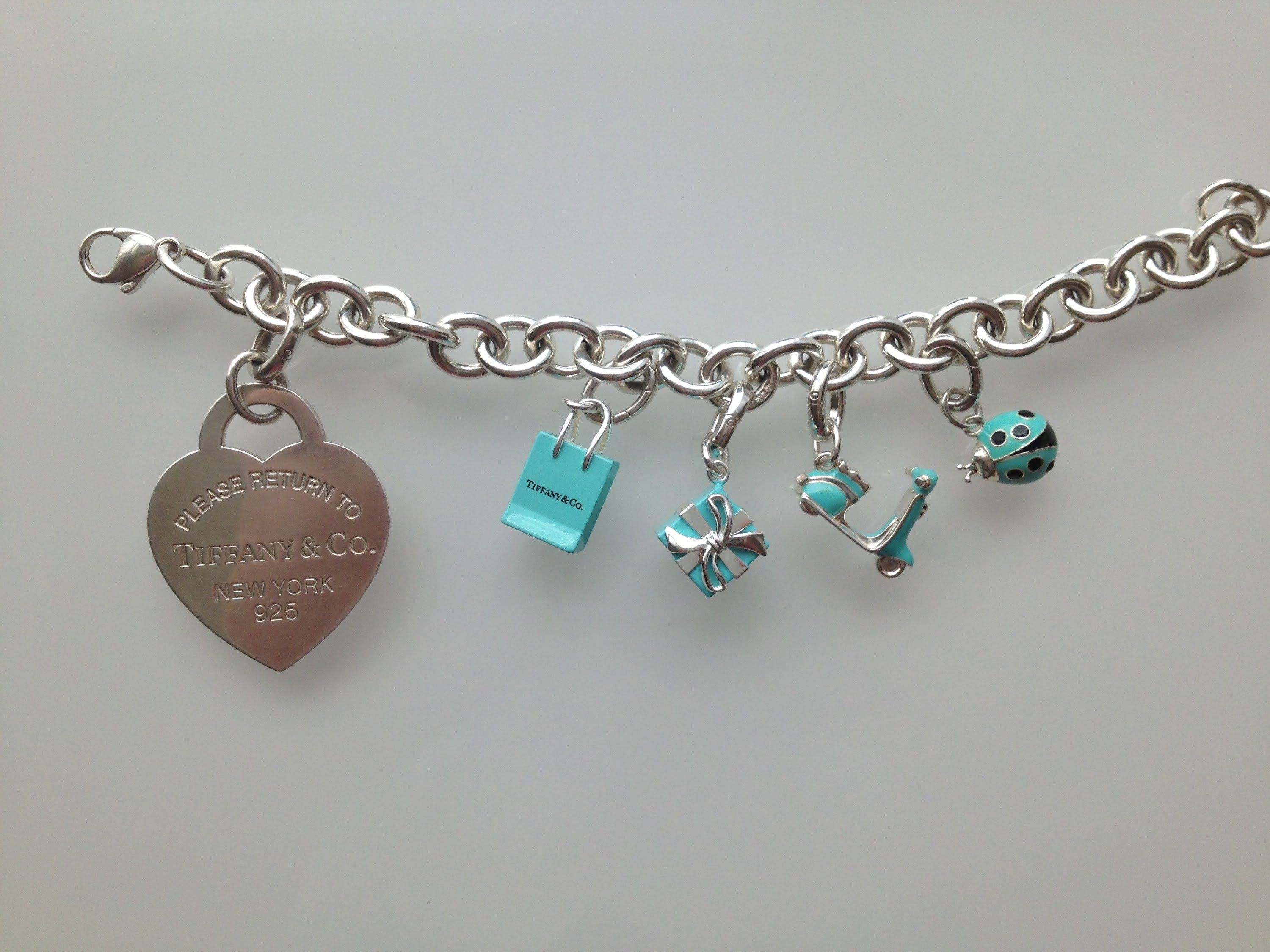 Tiffany And Co Bracelet With Charms  Tìm Với Google