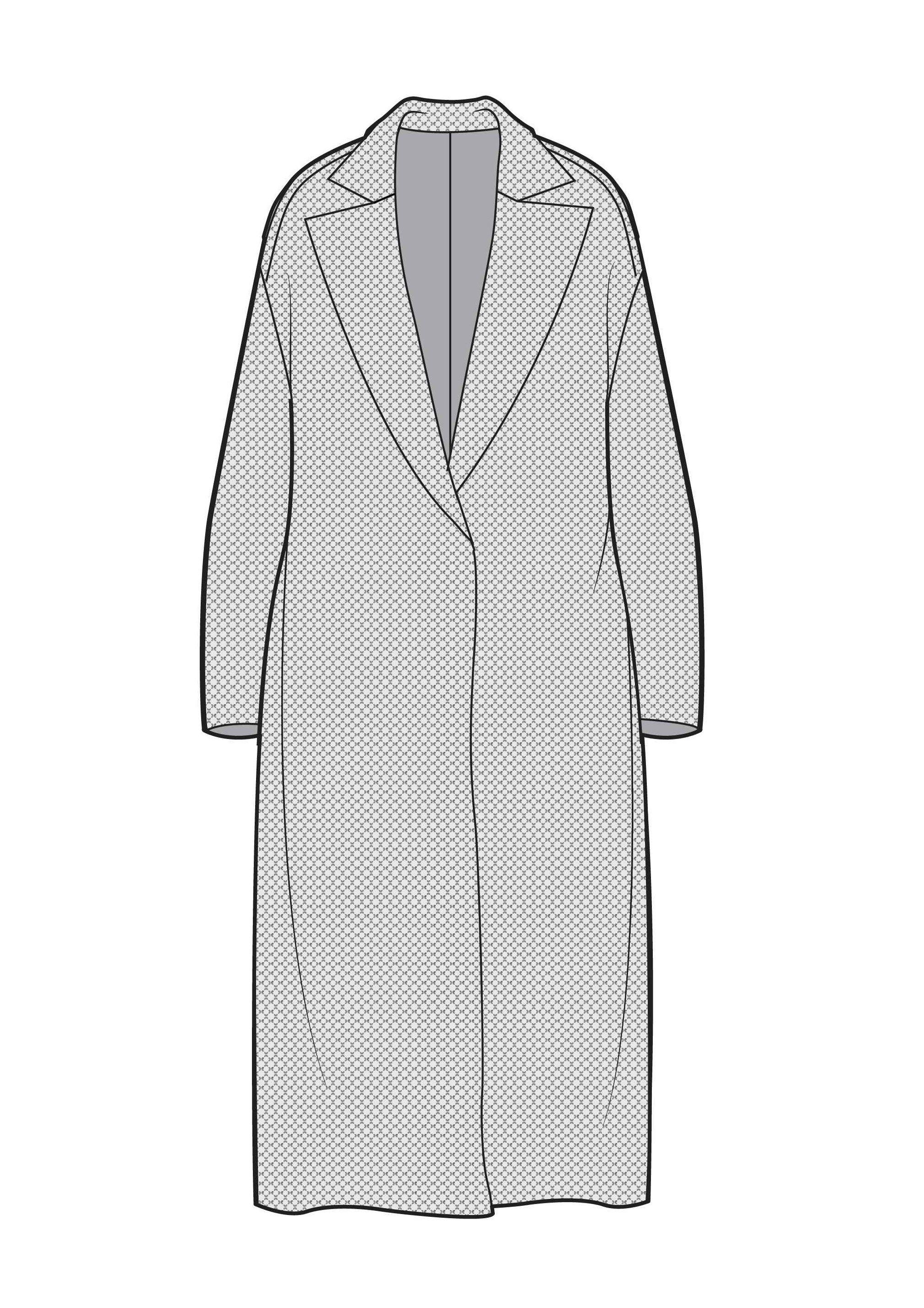 Duster coat | Illustrations|CAD|Graphics | Pinterest | Dusters ...