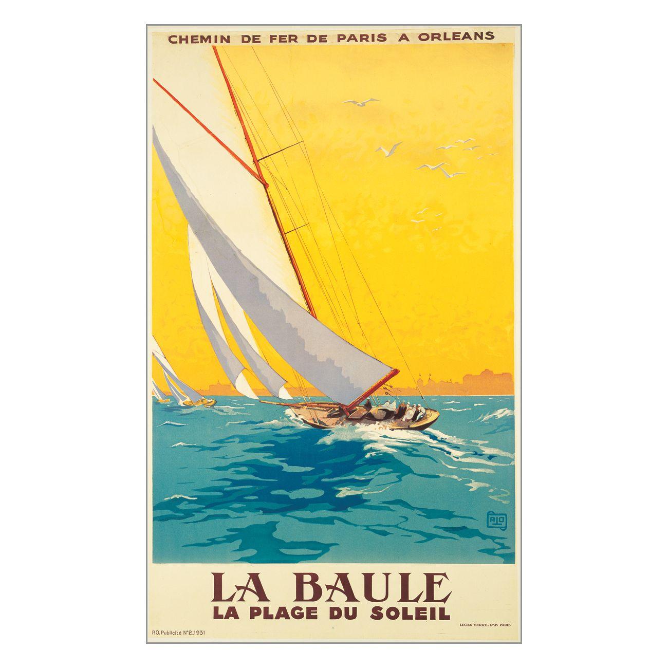 Art 4 Kids 42001 La Baule Vintage Sail Kids Art - Decor Universe ...