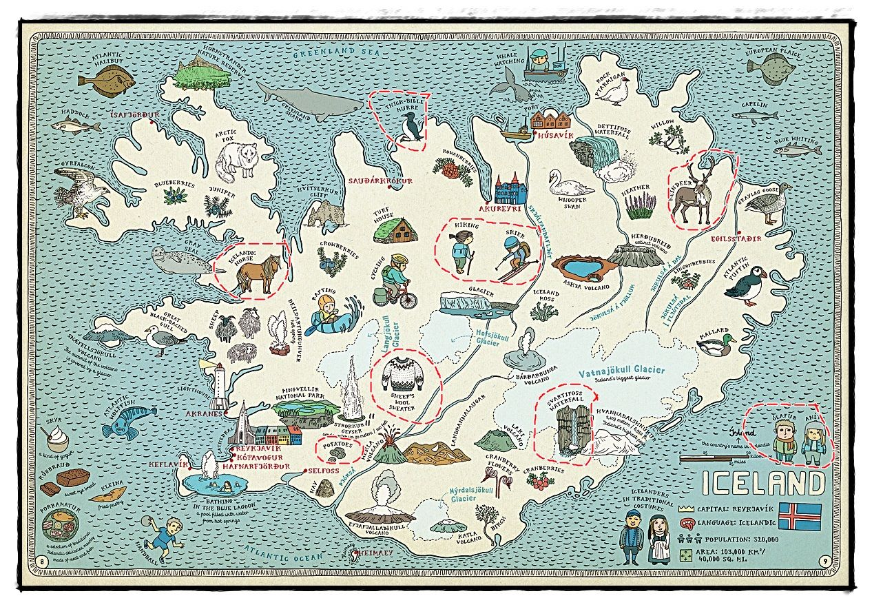Iceland map google search maps pinterest islandia y viajes iceland map google search gumiabroncs Gallery