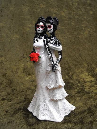 Halloween Wedding Lesbian Wedding Google Search Skull