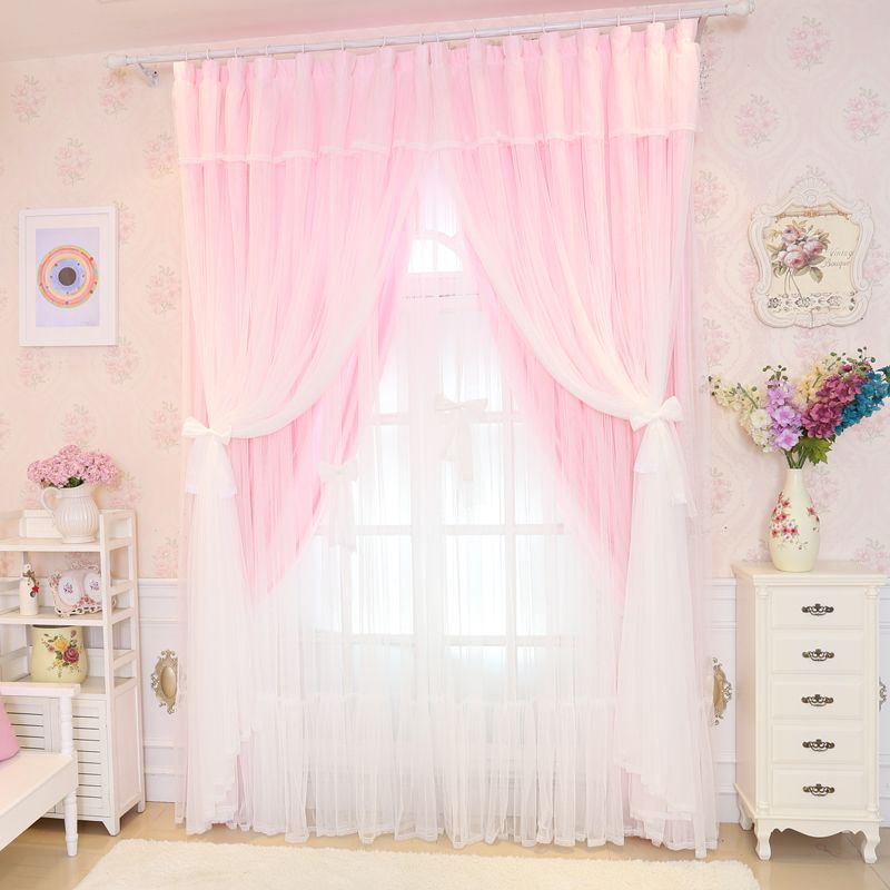 rustic flower curtain pattern tulle home drapes item lace single sheer window curtains long decor kitchen white