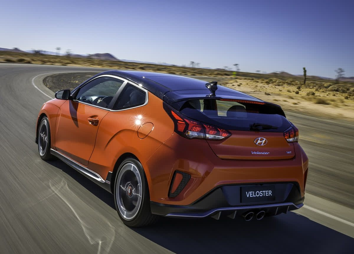 Handling for the Hyundai Veloster is still nimble while