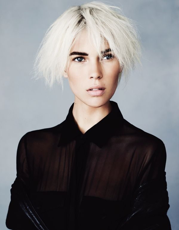 Yeye Hair White Hair Blog Pinterest Edgy Hairstyles Hair