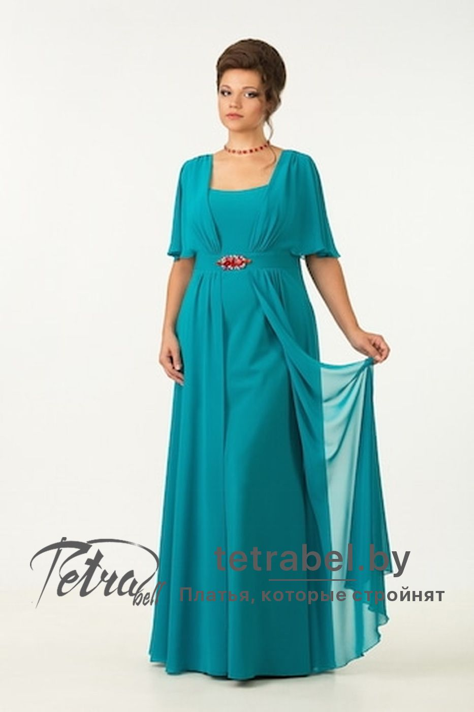 Plus size long evening dresses from tetrabel