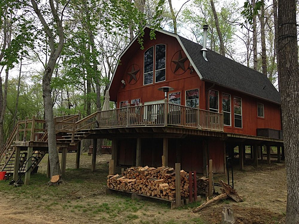 24x30 Barn House Rick Morrison, Trophy Club, TX IMG 11