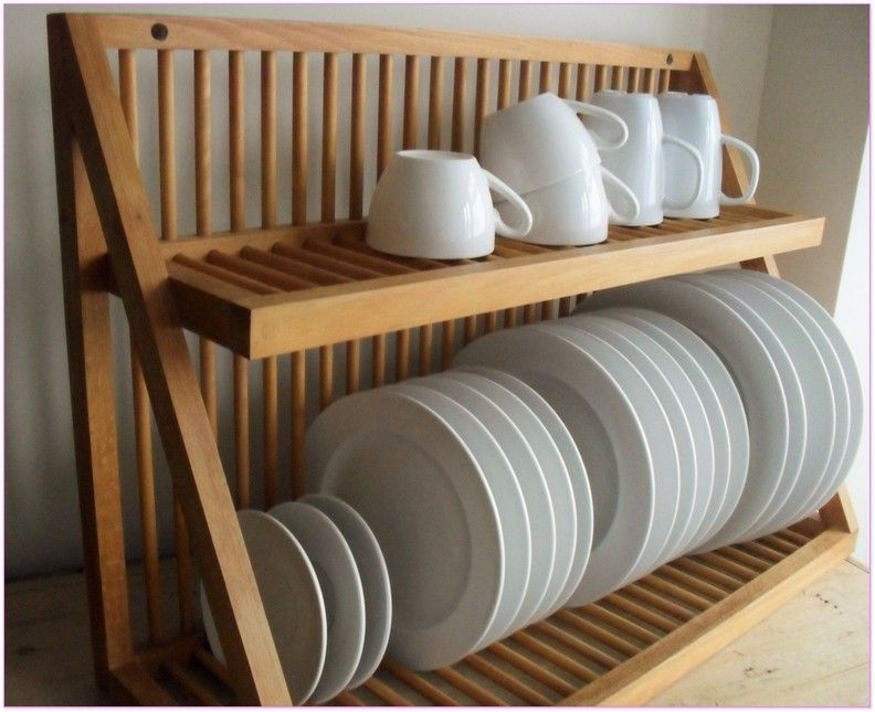 Dinner Plate Rack Holder Building Projects In 2019