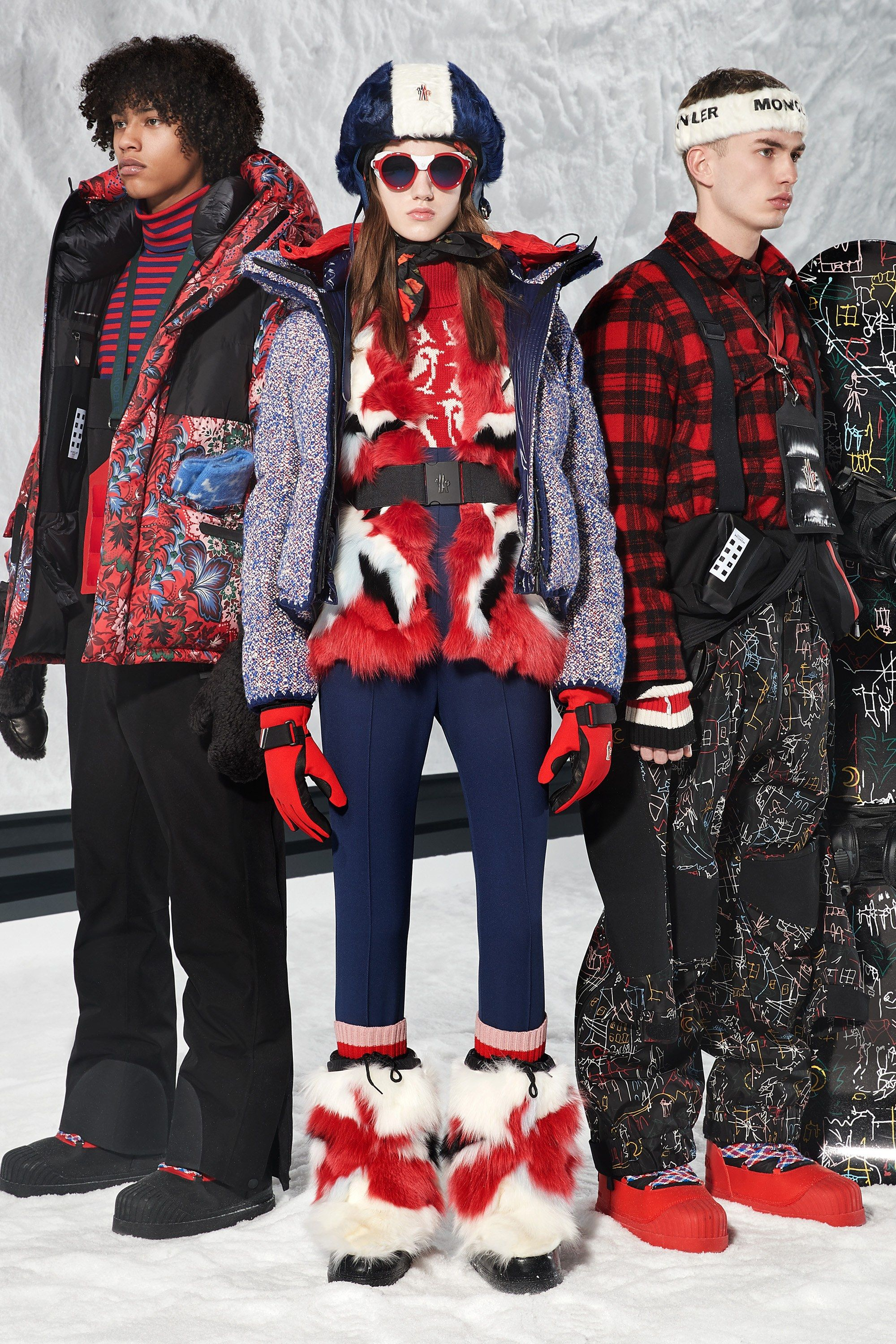 c31617b53283 The complete Moncler 3 Grenoble Fall 2018 Ready-to-Wear fashion show now on  Vogue Runway.