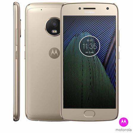 ddb86d01d Moto G5 Plus Ouro Motorola com Tela de 5