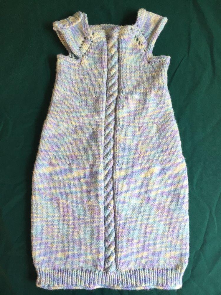 Cabled Sleep Sack   Knitting & crochet   Pinterest
