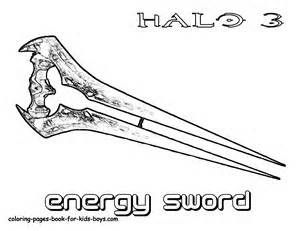 halo energy sword coloring pages 27gif 300231 Craft Ideas