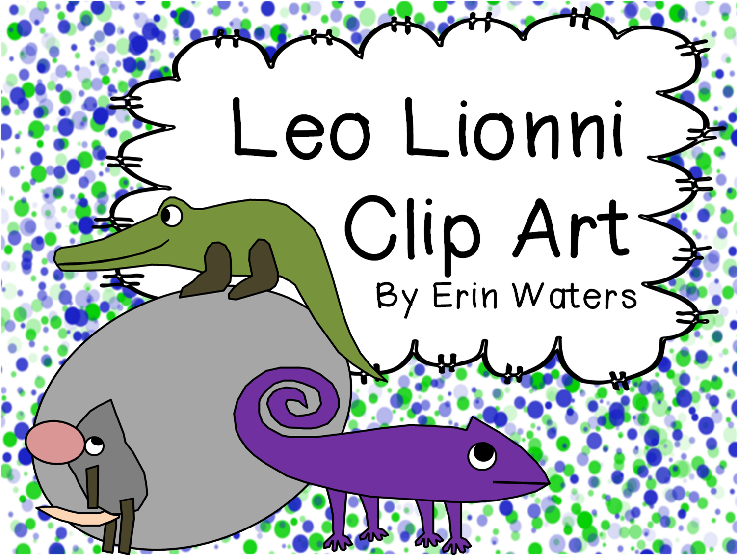 Love Leo Lionni He Has So Many Great Books For Teaching And This Clip Art Is Perfect For