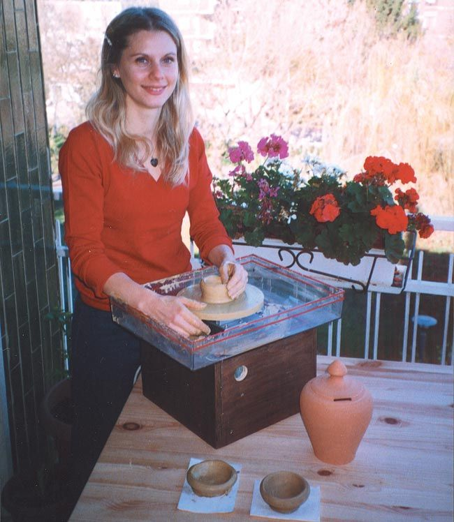 Costruire Un Tornio Per Ceramica.Come Costruire Un Tornio Elettrico Per Ceramica Ceramica Legno Fai Da Te