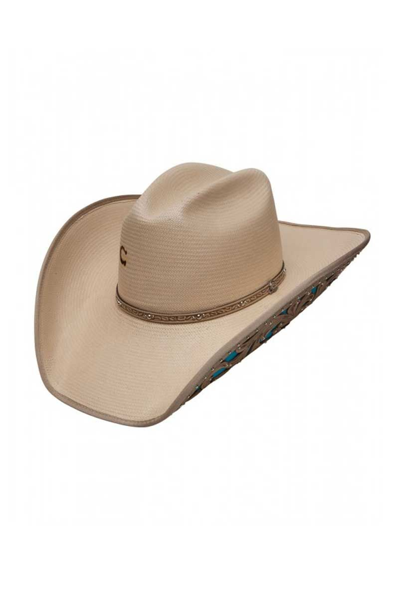 b110e9d51ac54 Charlie 1 Horse Women s Turquoise Southern Girl Cowboy Hat