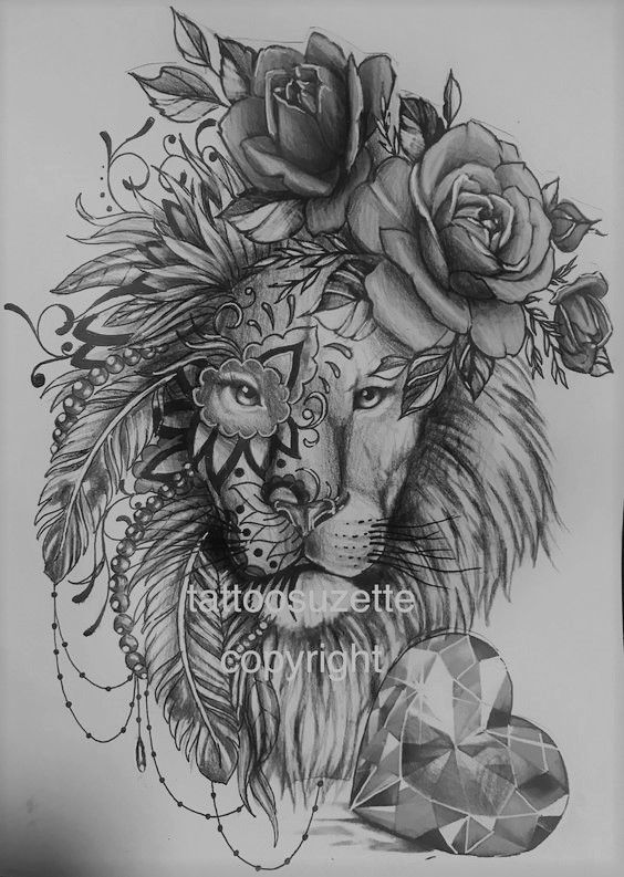 Sweet Tattoo Lioness Tattoo Lion Tattoo Design Lion Tattoo On Thigh