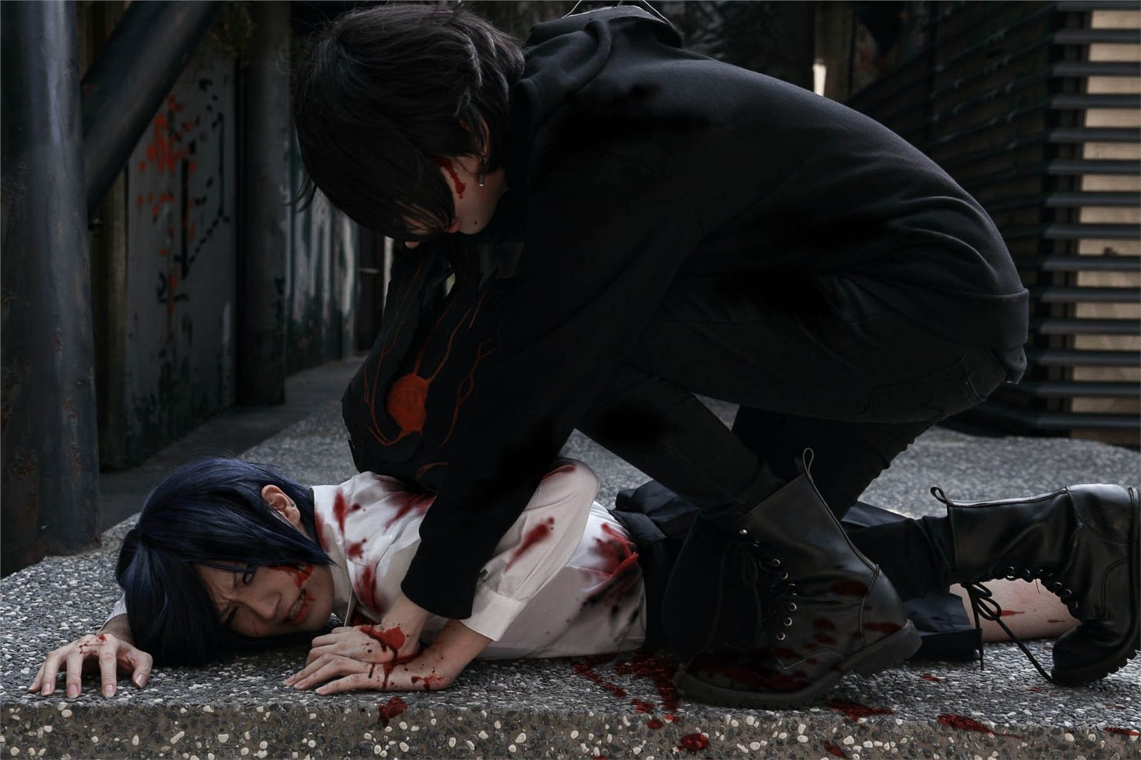 """""""Toui Kaen(灯井�? Toka Kirishima, yo(�? Ayato Kirishima Cosplay Photo"""""""