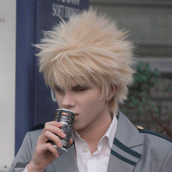 Katsuki Bakugou From My Hero Academia Wig Wigs Bakugou