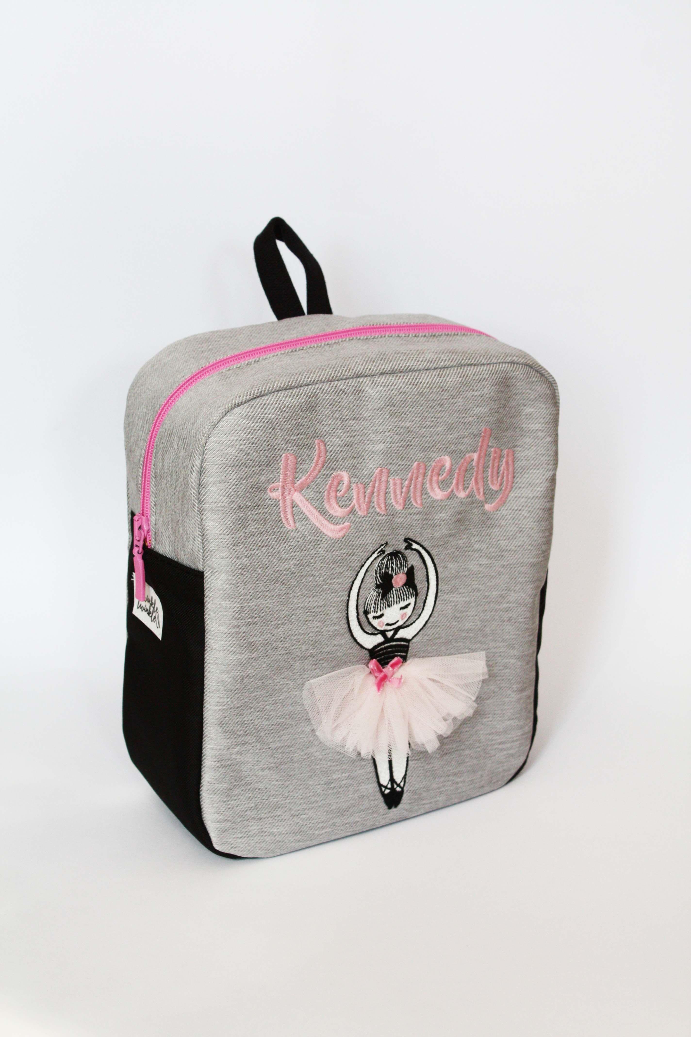 eaf8578aba55 Personalized ballerina backpack