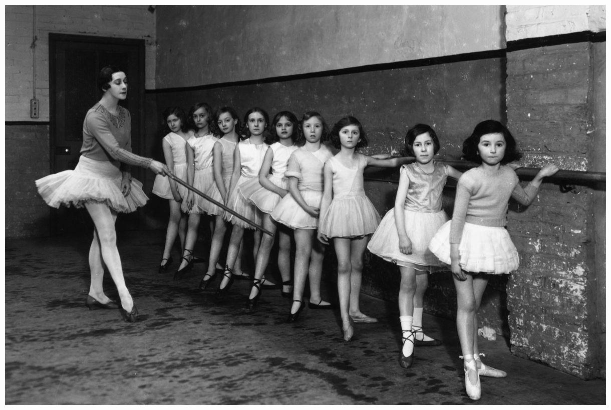 Russian Ballet Tamara Karsavina en una imagen de 1932