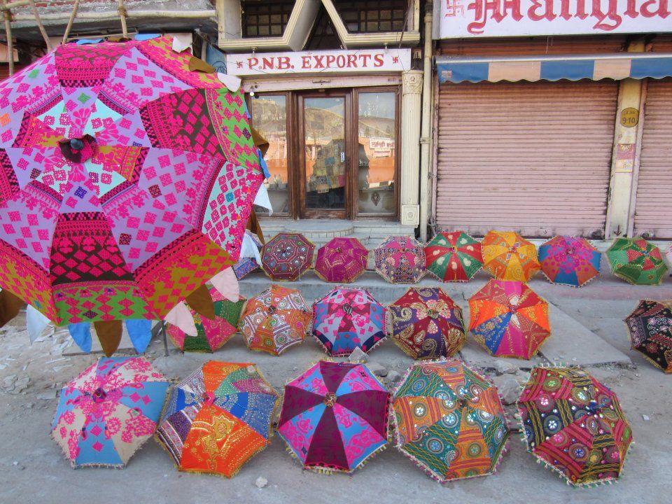 Umbrellas, Jaipur