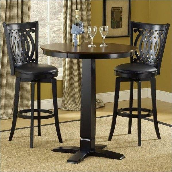 Hillsdale Dynamic Designs 5 Piece Pub Table and Stools Set ( 752 ... 548c970fed