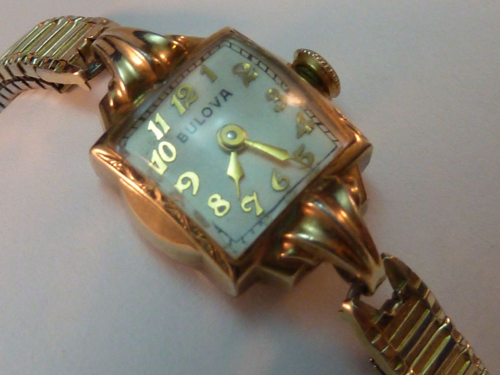 Vintage Bulova Watch Womens Ladies 1950 10k Rolled Gold Vintage Bulova Watches Old Watches Vintage Watches Women
