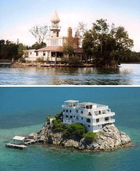 Charming Houses On Tiny Islands Part 23