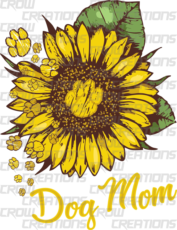 Dog Mom PNG, Digital Download, Sublimation Design Download
