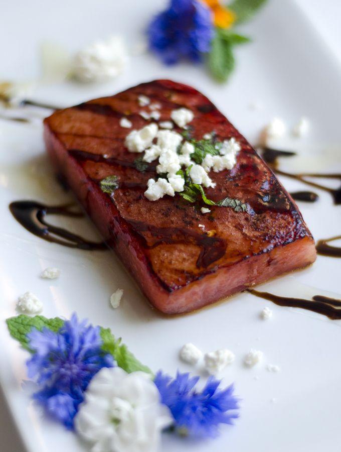 Pan Seared Watermelon Steak