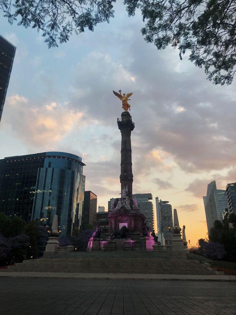 Ángel de la Independencia en Ciudad de México.
