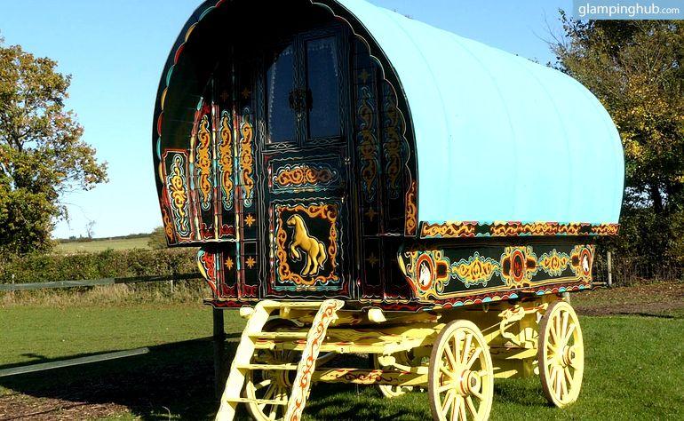 Gypsy Caravan Rentals in UK | Glamping in the UK