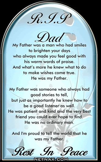 Rest In Peace Dad! 😢 Love You! ☺ | My Posts | Dad quotes ...