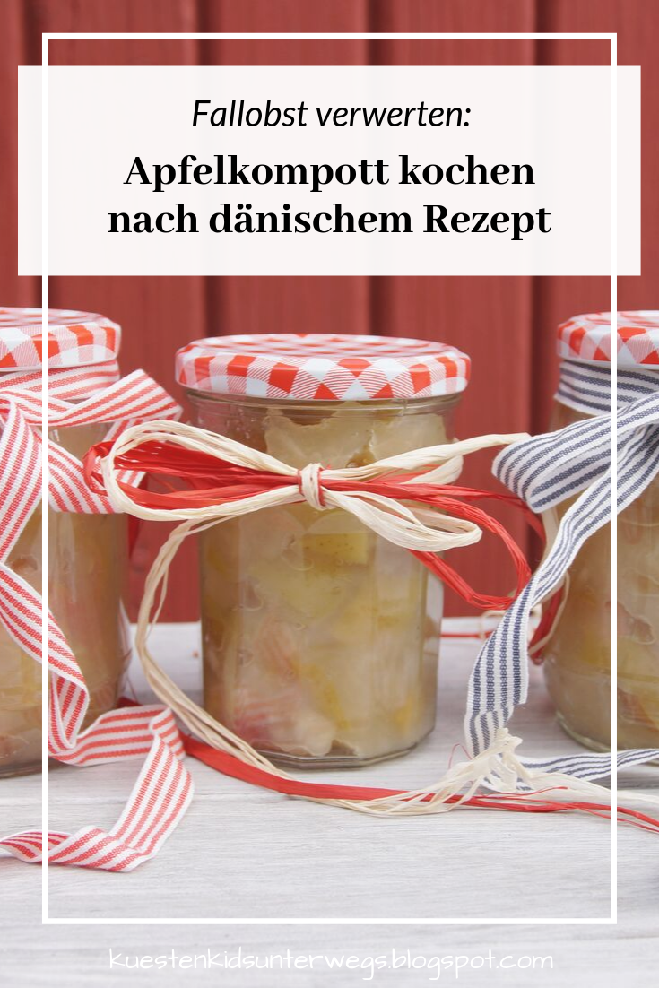 Fallobst verwerten: Apfelkompott kochen nach dänischem Rezept