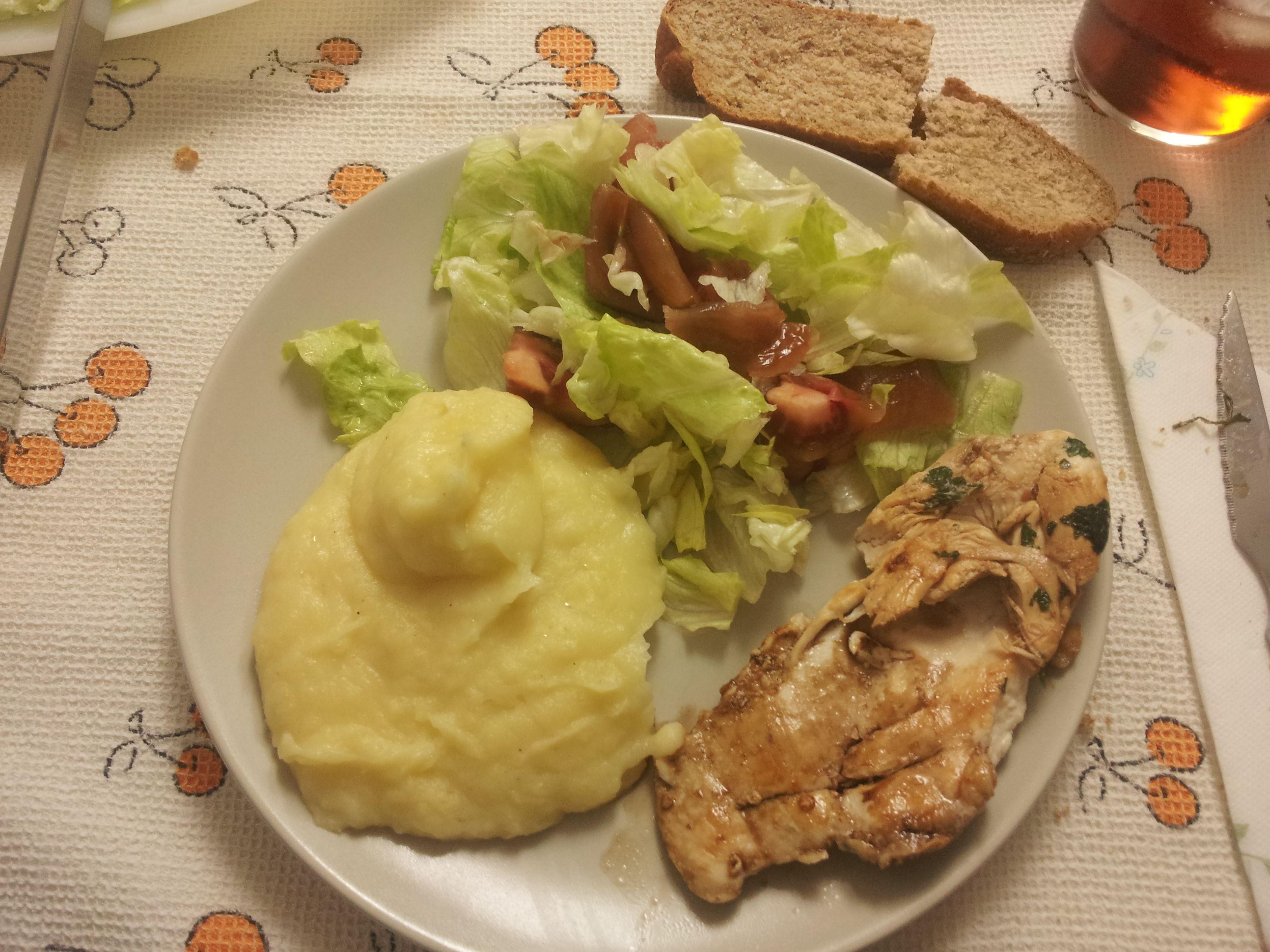 comidas+con+pechuga+de+pollo+y+patatas