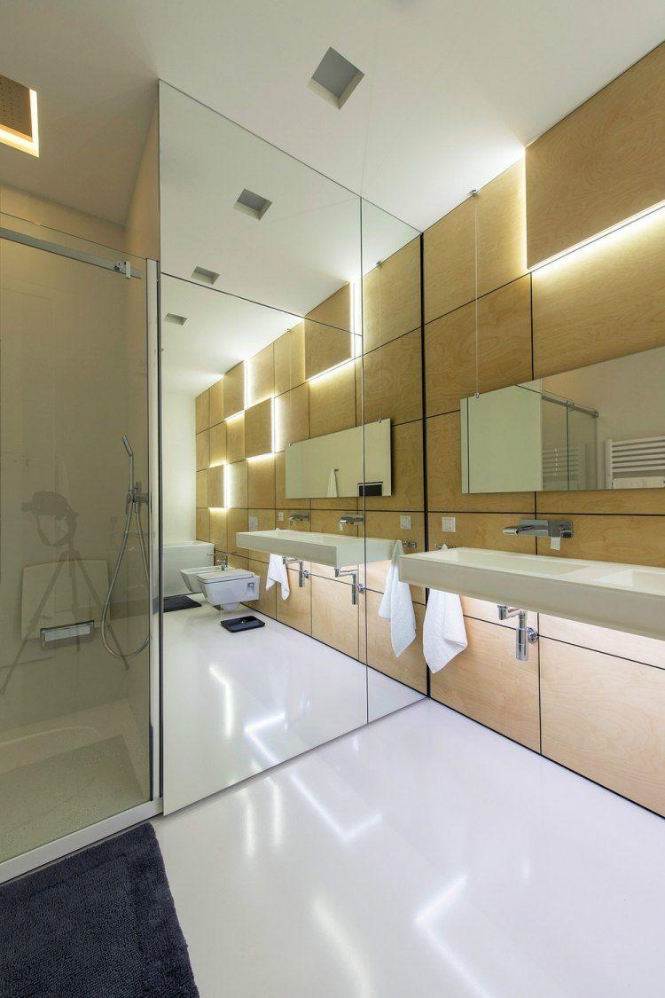 Aménagement salle de bains sans fenêtres- 30 idées supers ...