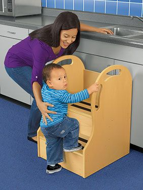 #LakeshoreDreamClassroom Easy Climb Step Stool $179.00 With Our Toddler Sized  Step Stool,