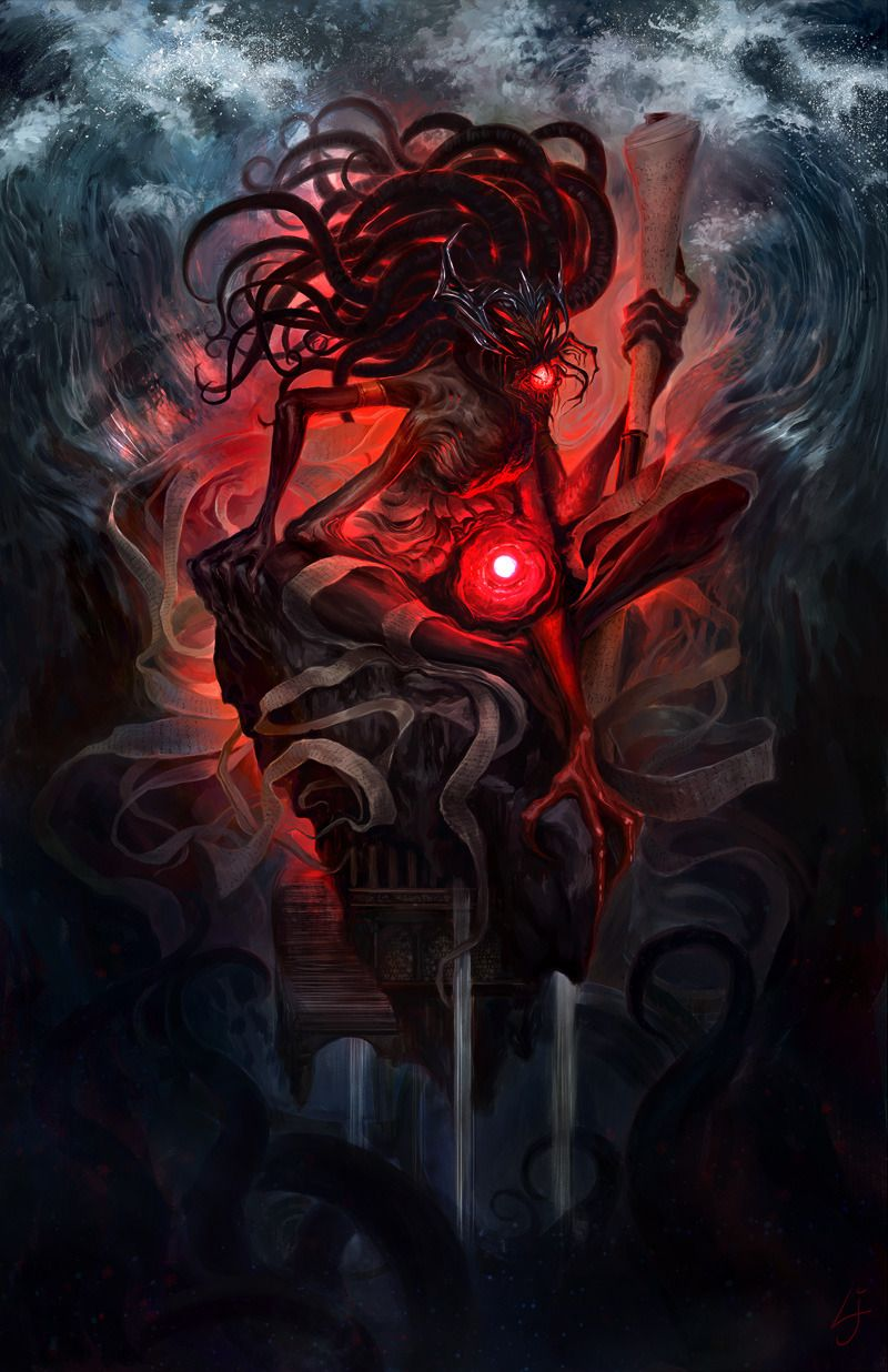 Abaddon Fallen God Of Knowledge And Water First In A Series I M Doing On The Human Gods Of Guild Wars 2 Guild Wars God Of Knowledge Guild Wars 2