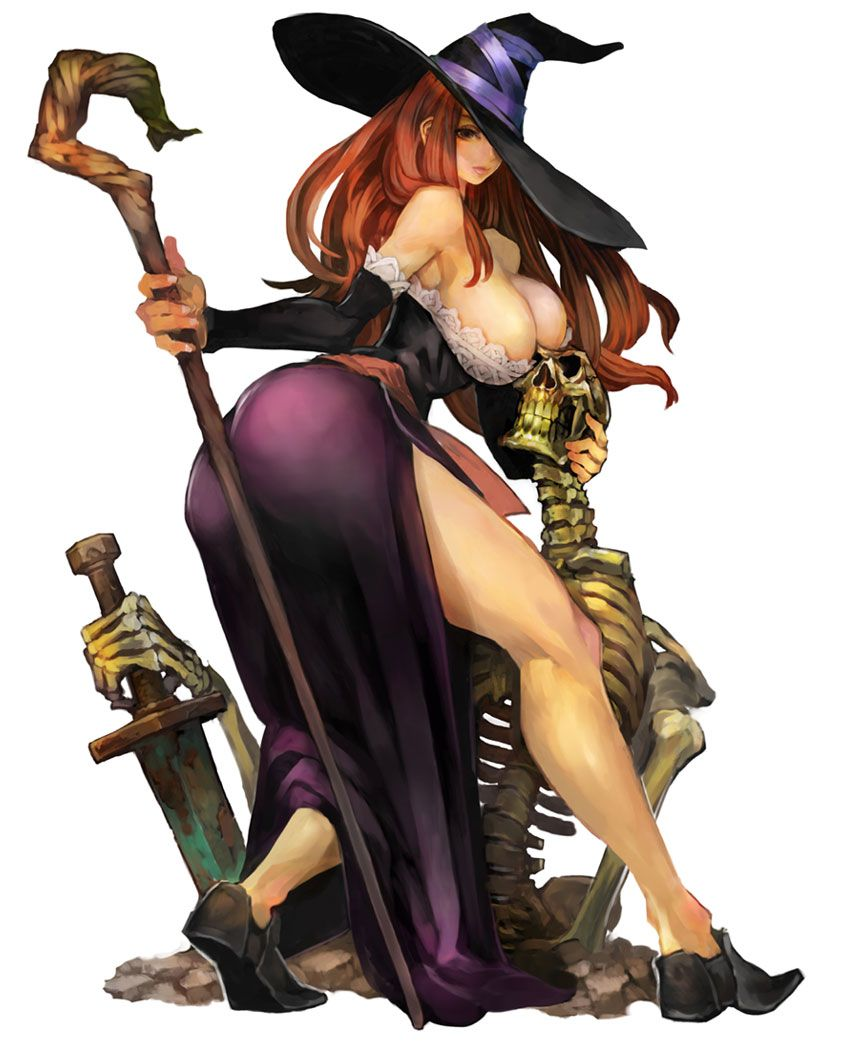 Sorceress Characters Art Dragon S Crown With Images